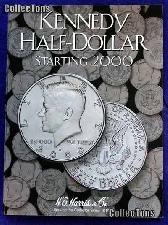 Harris Kennedy Half Dollar Starting 2000 Coin Folder  2942