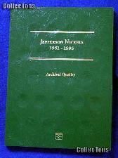 Littleton Jefferson Nickels 1962-1996 Coin Folder LCF2