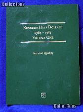 Littleton Kennedy Half Dollars 1964-85 Coin Folder LCF7