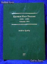 Littleton Kennedy Half Dollars 1986-03 Coin Folder LCF8