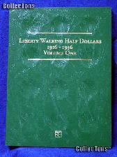 Littleton Walking Half Dollar 1916-36 Coin Folder LCF11