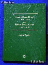 Littleton Flying Eagle & Indian Cents Coin Folder LCF17
