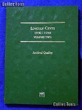 Littleton Lincoln Wheat Cents 1930-58 Coin Folder LCF19