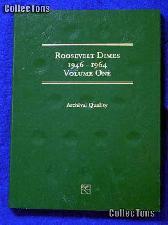 Littleton Roosevelt Dimes 1946-1964 Coin Folder LCF21