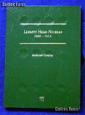 Littleton Liberty Head V Nickels Coin Folder LCF23