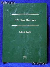 Littleton Blank Coin Folder for U.S. Half Dollars LCFHD