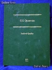 Littleton Blank Coin Folder for U.S. Quarters LCFQ