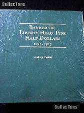 Littleton Barber Half Dollars 1892-1915 Album LCA41