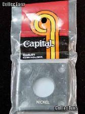 Capital Plastics 2x2 Holder - NICKEL in Black