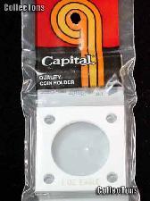 Capital Plastics 2x2 Holder - ONE oz EAGLE in White