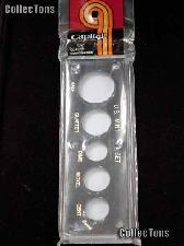 Capital Plastics 2x6 Holder - US MINT SET in Black