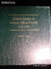 Littleton Flying Eagle & Indian Cents Album LCA24
