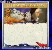 Harris 6.5x6.5 Permalock Holder 8 PRESIDENTIAL DOLLARS