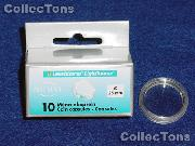 10 Lighthouse Coin Capsules for 25mm Coins  1/2 Oz Canada Maple Leaf Gold