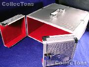 Lighthouse Small Aluminum Coin Box for MB Cases