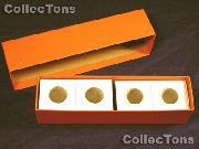 Single Row Storage Box & 100 2x2 Holders for QUARTERS