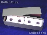 Single Row Storage Box & 100 2x2 Holders for DIMES