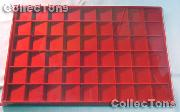 Vertical Coin Tray for 1.5x1.5 Coin Holders in Red