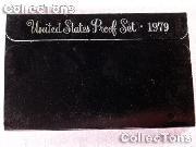 1979 U.S. Mint Proof Set OGP Replacement Box