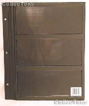 Whitman Deluxe Currency Album Page for Large Size Notes