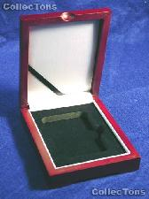 Single Tray Wooden Box for 1 Universal Slab Holder