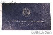 1972-S BLUE IKE EISENHOWER SILVER DOLLAR * BU