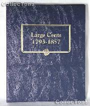 Large Cents 1793-1857 Whitman Classic Album #9110