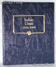 Indian Cents 1856-1909 Whitman Classic Album #9111