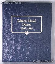 Liberty Head Barber Dimes Whitman Classic Album #9117