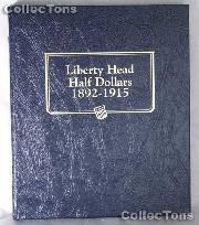 Barber Half Dollars Whitman Classic Album #9124