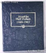 Franklin Half Dollars Whitman Classic Album #9126