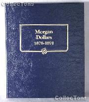 Morgan Dollars 1878-1891 Whitman Classic Album #9128