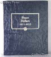 Peace Dollars 1921-1935 Whitman Classic Album #9130