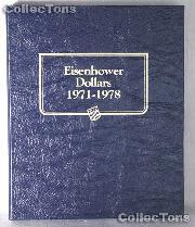 Eisenhower Ike Dollars Whitman Classic Album #9131