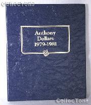 Susan B. Anthony SBA Dollar Whitman Classic Album #9149