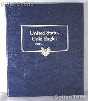 United States Gold Eagles Whitman Classic Album #9173