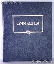 Blank Universal Coin Binder Whitman Classic Album #9140