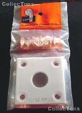Capital Plastics 2x2 Holder - 1/10 oz EAGLE in White