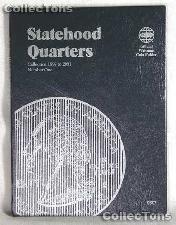 Whitman Statehood Quarters 1999-2001 Folder 9697