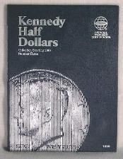 Whitman Kennedy Half Dollars 2004-Date Folder 1938