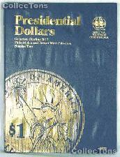 Whitman Presidential Dollars 2012-16 P & D Folder 2276