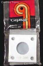 Capital Plastics 2x2 Holder - HALF CENT in White