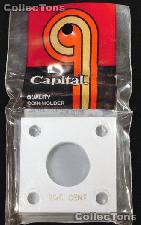 Capital Plastics 2x2 Holder - TWO CENT in White