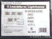 10 Lighthouse Approval Cards 2-Strip Clear Backing MK2C