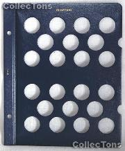Blank Album Page for Quarters for Whitman Classic Coin Albums