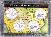 Harris 2x3 Westward Nickel Series PEACE MEDAL&KEELBOAT