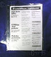 Lighthouse Exhibition Sheet Protector Page