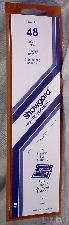 Showgard Strip Style Black Stamp Mounts Size 48