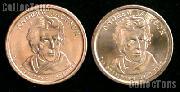 2008 P&D Andrew Jackson Presidential Dollar GEM BU 2008 Jackson Dollars