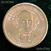 2008-D Martin Van Buren Presidential Dollar GEM BU 2008 Van Buren Dollar
